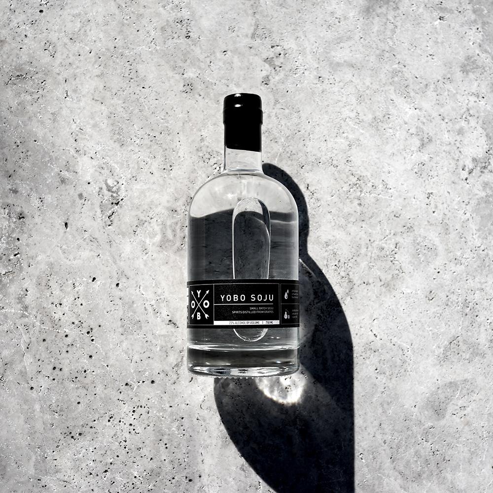 YOBO Soju Bottle